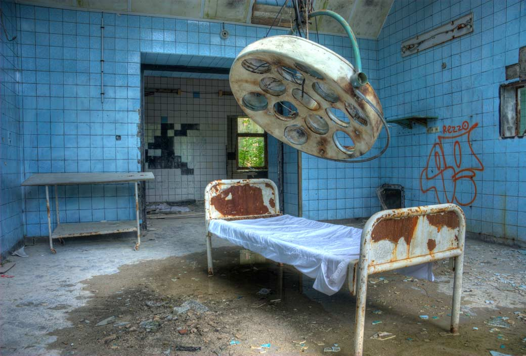 Creepy Photos Of Abandoned Places