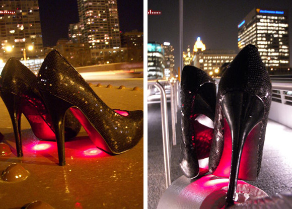 8ae6c095f87 Crazy LED stiletto heels  photos  - Alltop Viral