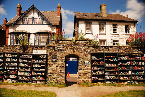 outdoor library gate
