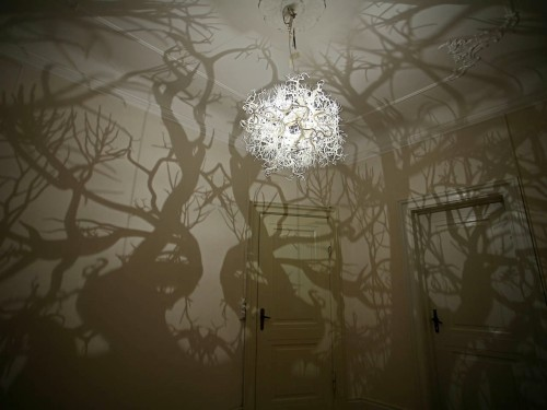 forest chandelier