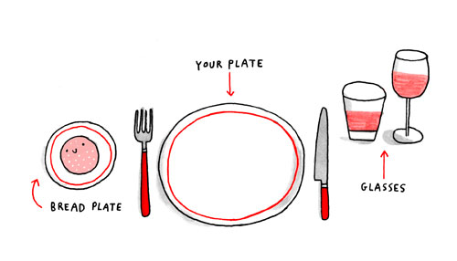 the nit picky guide to dinner etiquette comic alltop viral