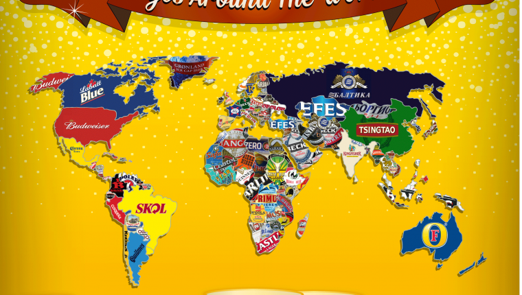 World map of beer map alltop viral gumiabroncs Choice Image