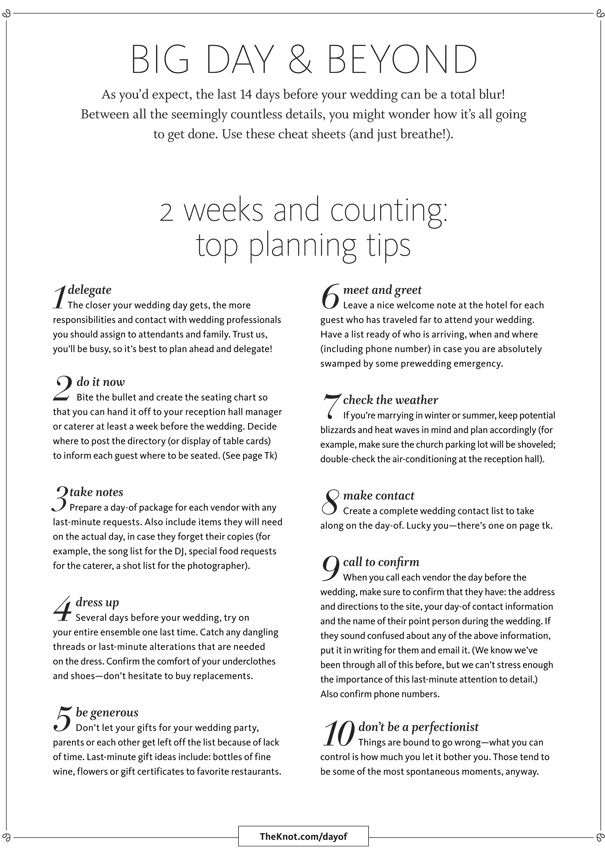 How To Plan A Wedding Infographic Alltop Viral