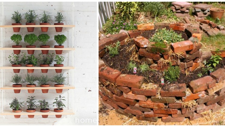 16 ideas for diy container gardens alltop viral for Garden planter ideas