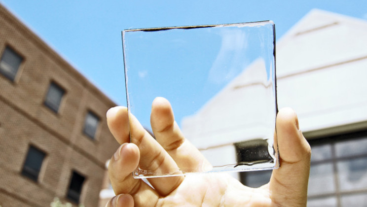 Transparant solar cell