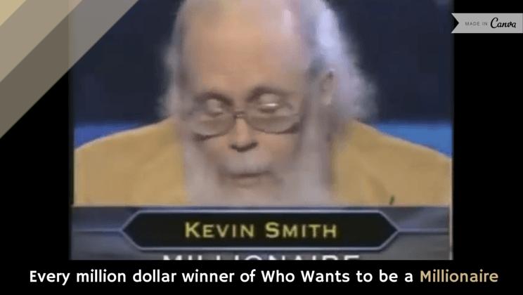 Dollar menu millionaire