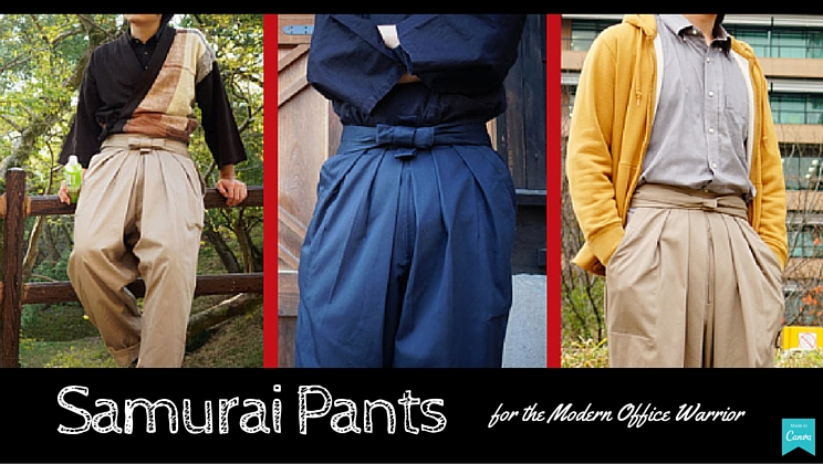 Sheath Your Sword In A Pair Of Office Appropriate Samurai Pants