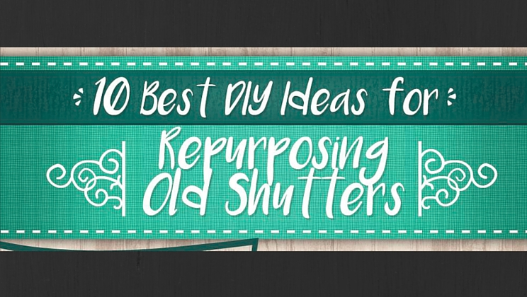 10 best diy ideas for repurposing old shutters