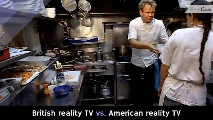 reality tv versus regular tv Is reality television bad for children cruder place than it used to be and they think the reality tv a study found that 78 percent of regular viewers.