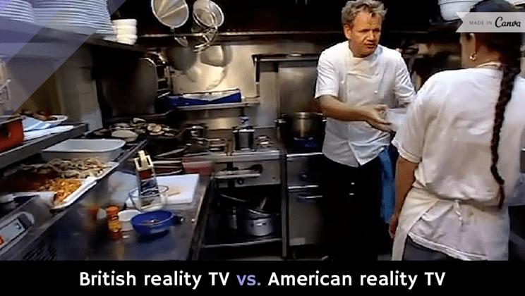 Kitchen Nightmares British Vs American