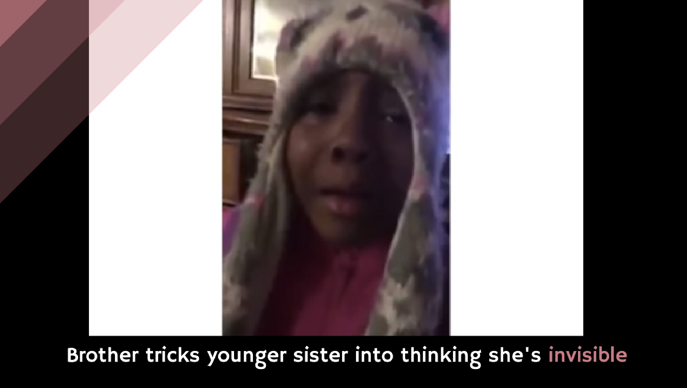 Brothers Trick Sister About a Zombie Apocalypse [video]