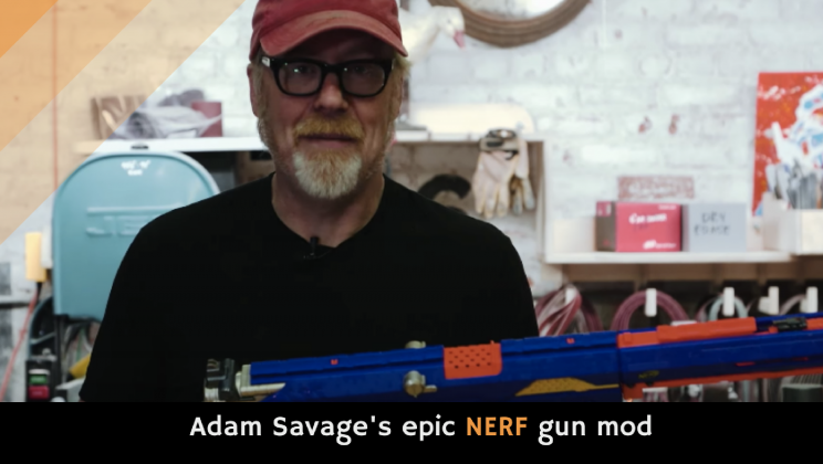 Adam Savage's epic NERF gun mod