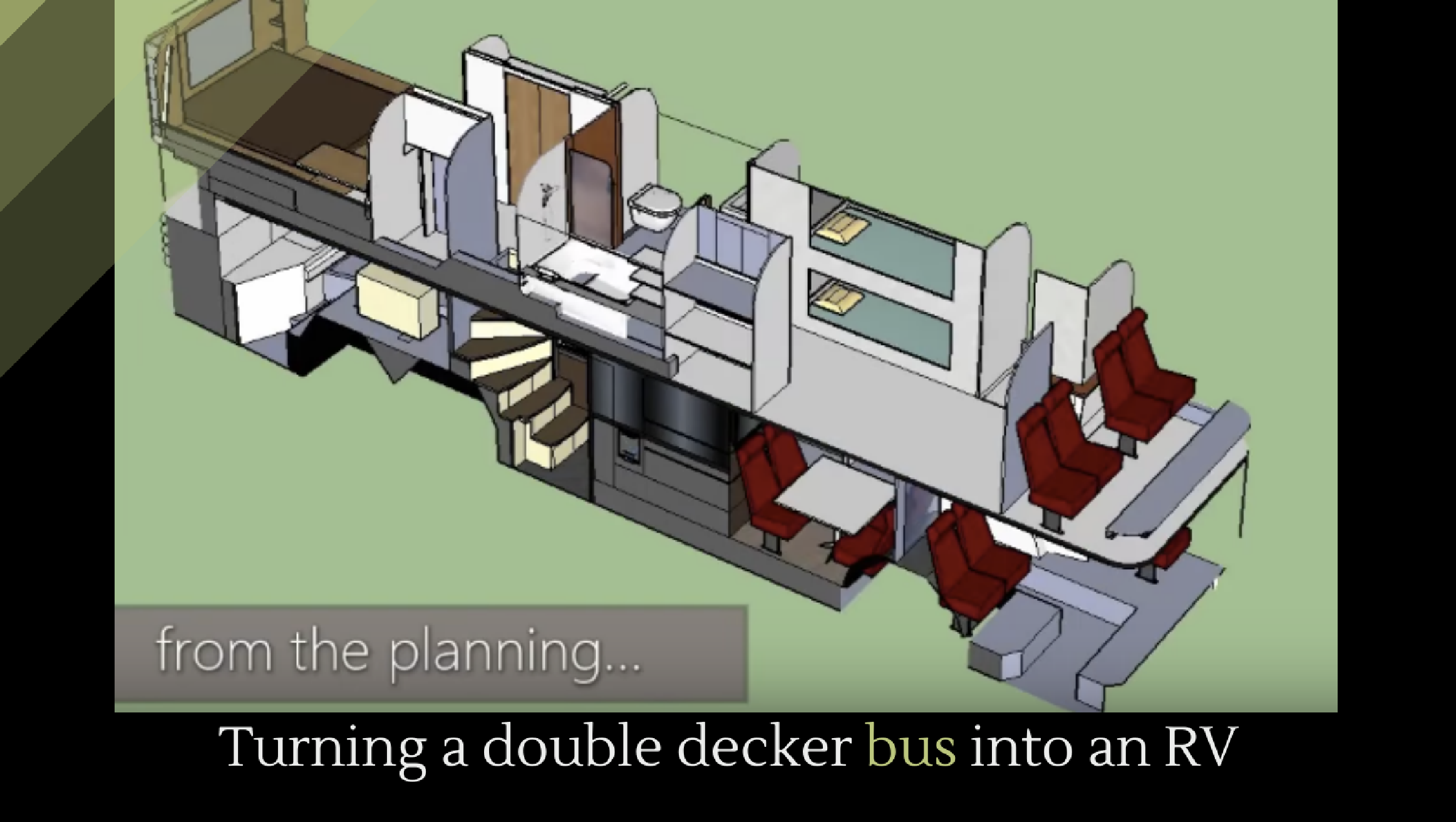 Turning A Double Decker Bus Into An Rv Alltop Viral
