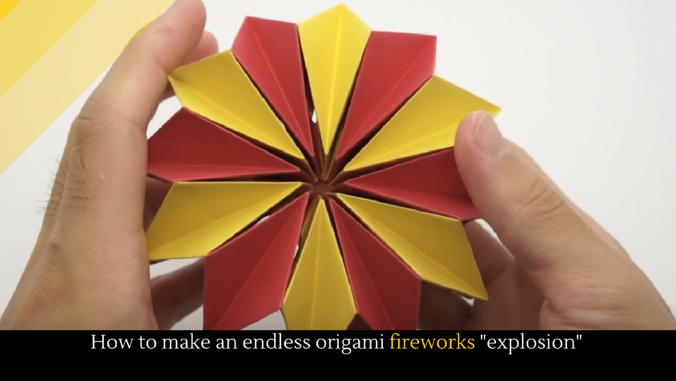 Origami Fireworks Diagram How To Make An Endless 2325x1313
