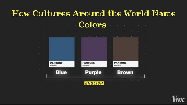 The Shocking Pattern Behind Color Names Around World